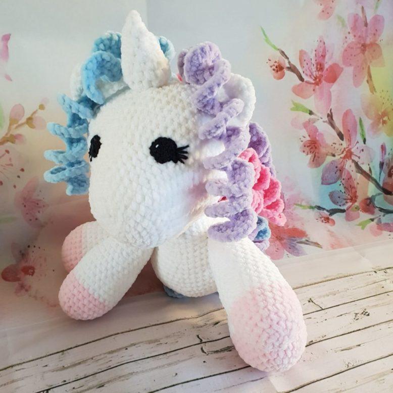 Cuddle Me Pony amigurumi pattern - Amigurumi Today | 778x778